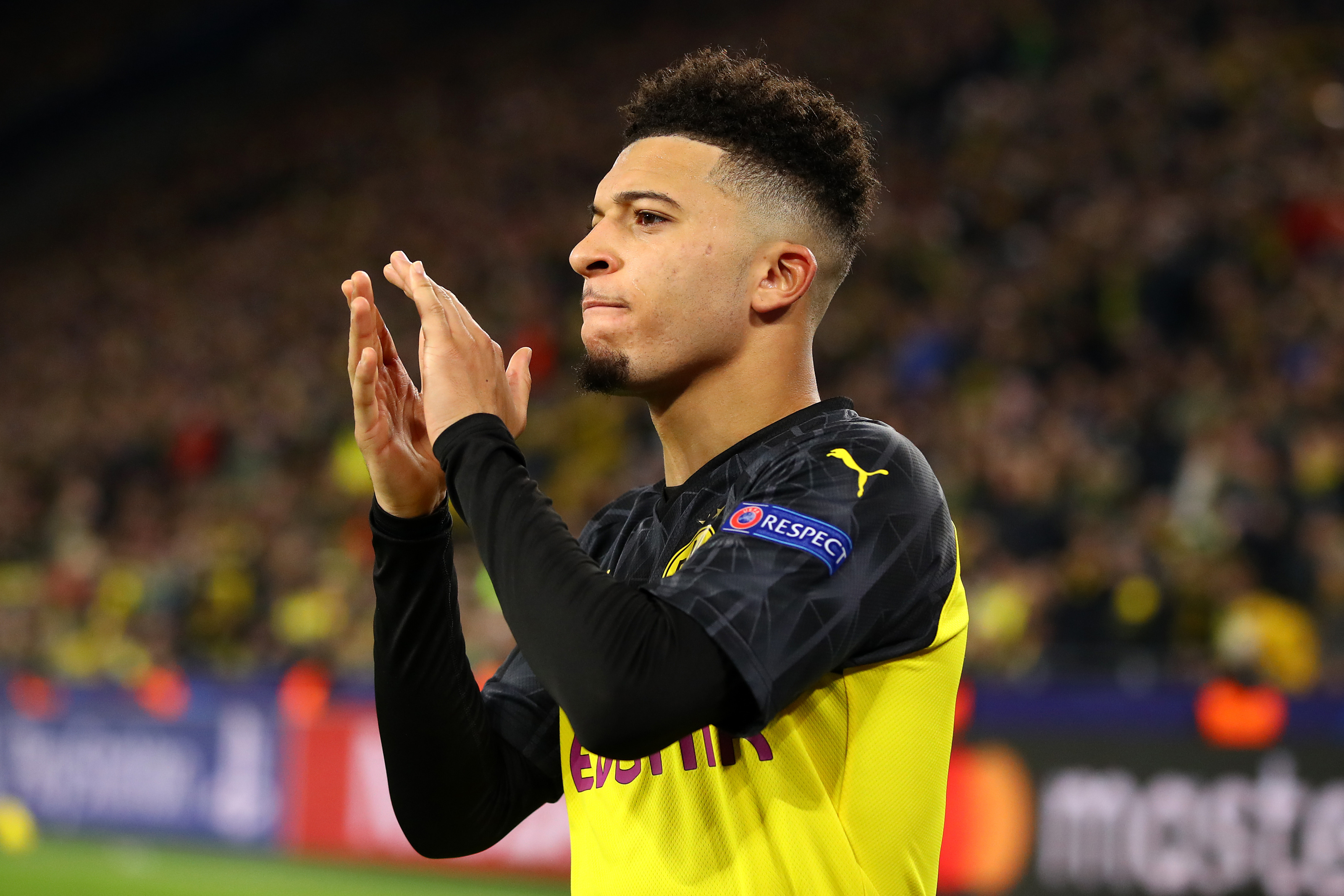 Could this be confirmation of Manchester United signing Sancho?