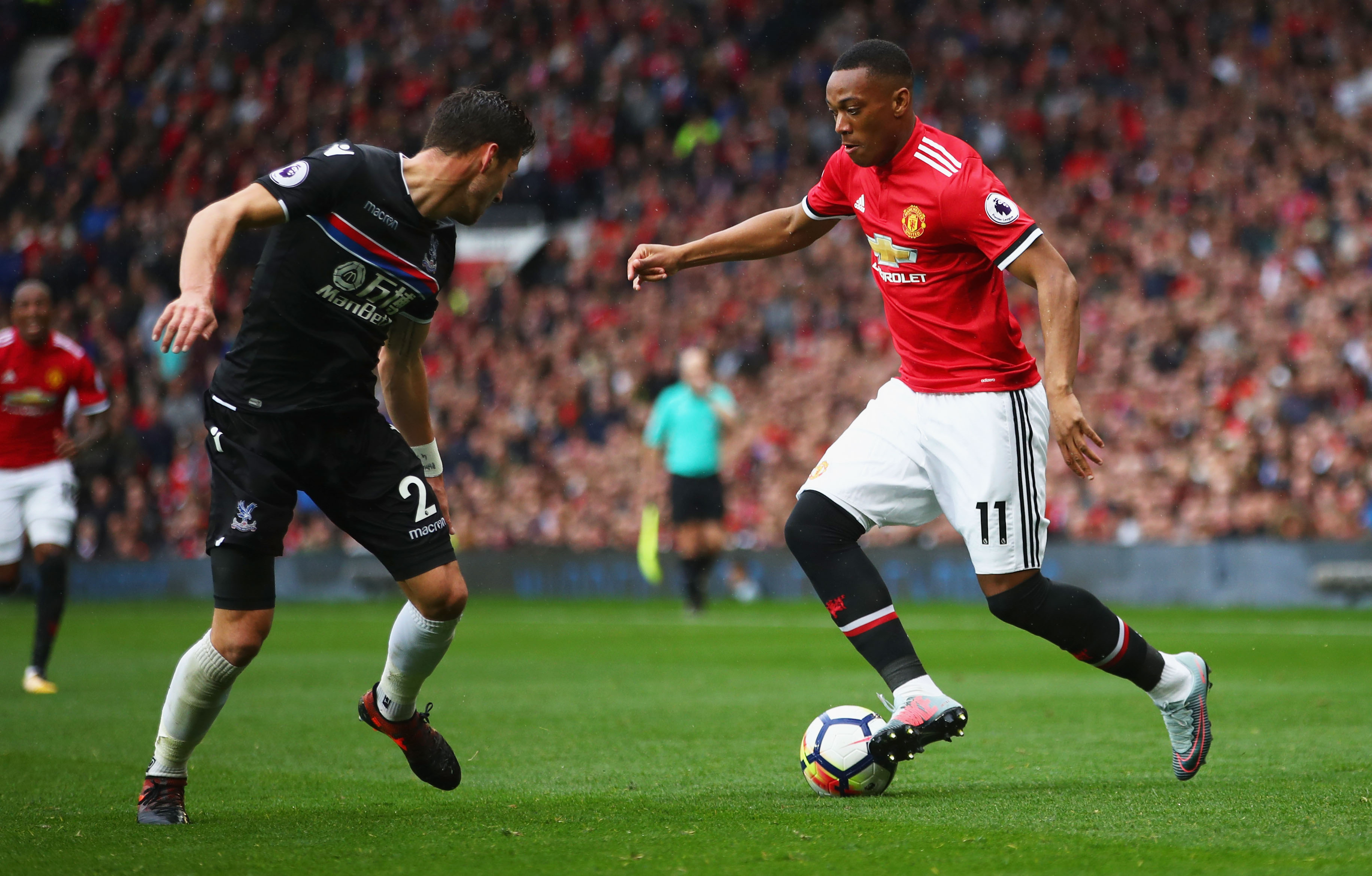 Anthony Martial Manchester United s Player of the Month September