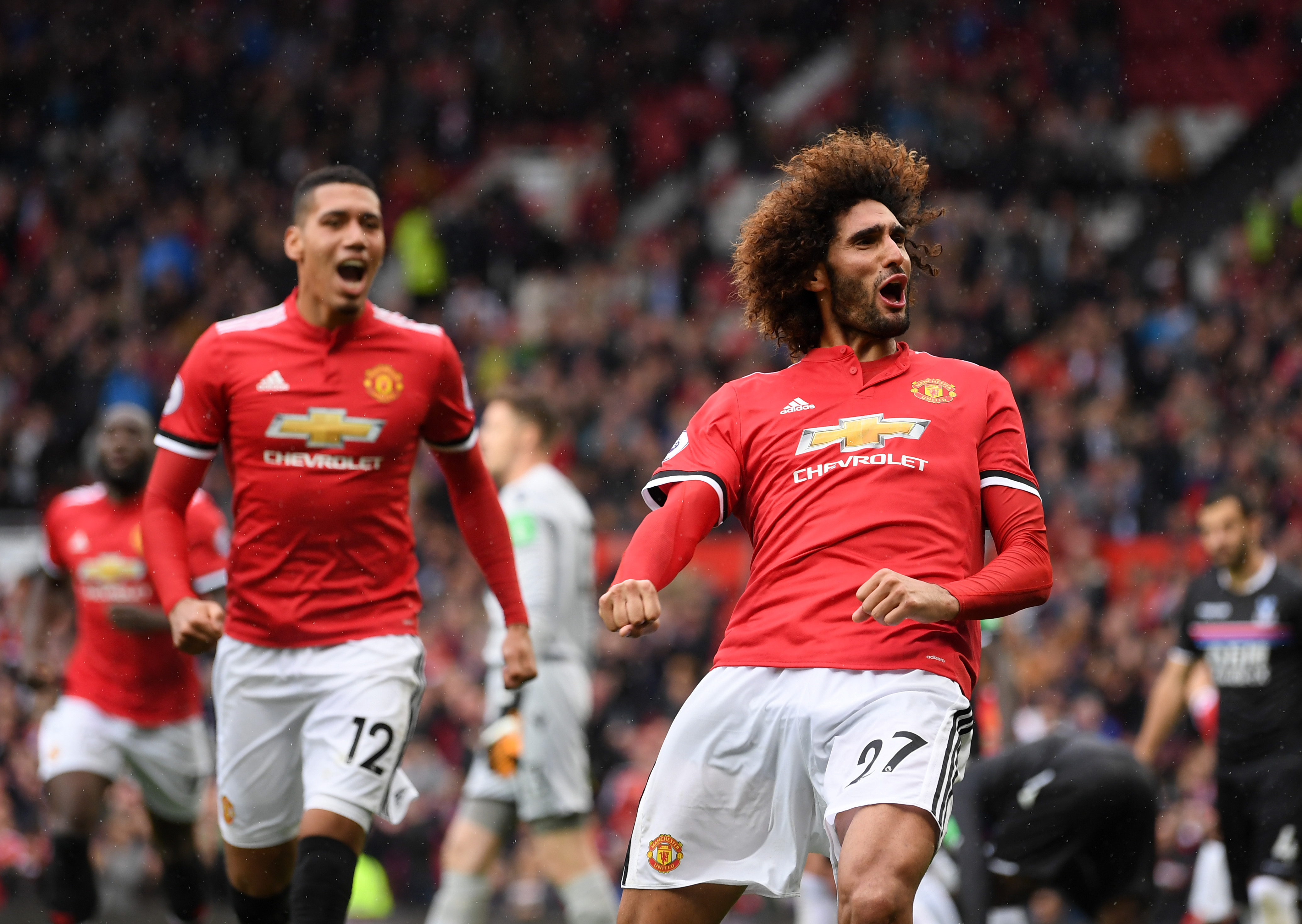 Fellaini ruled out of Reds clash