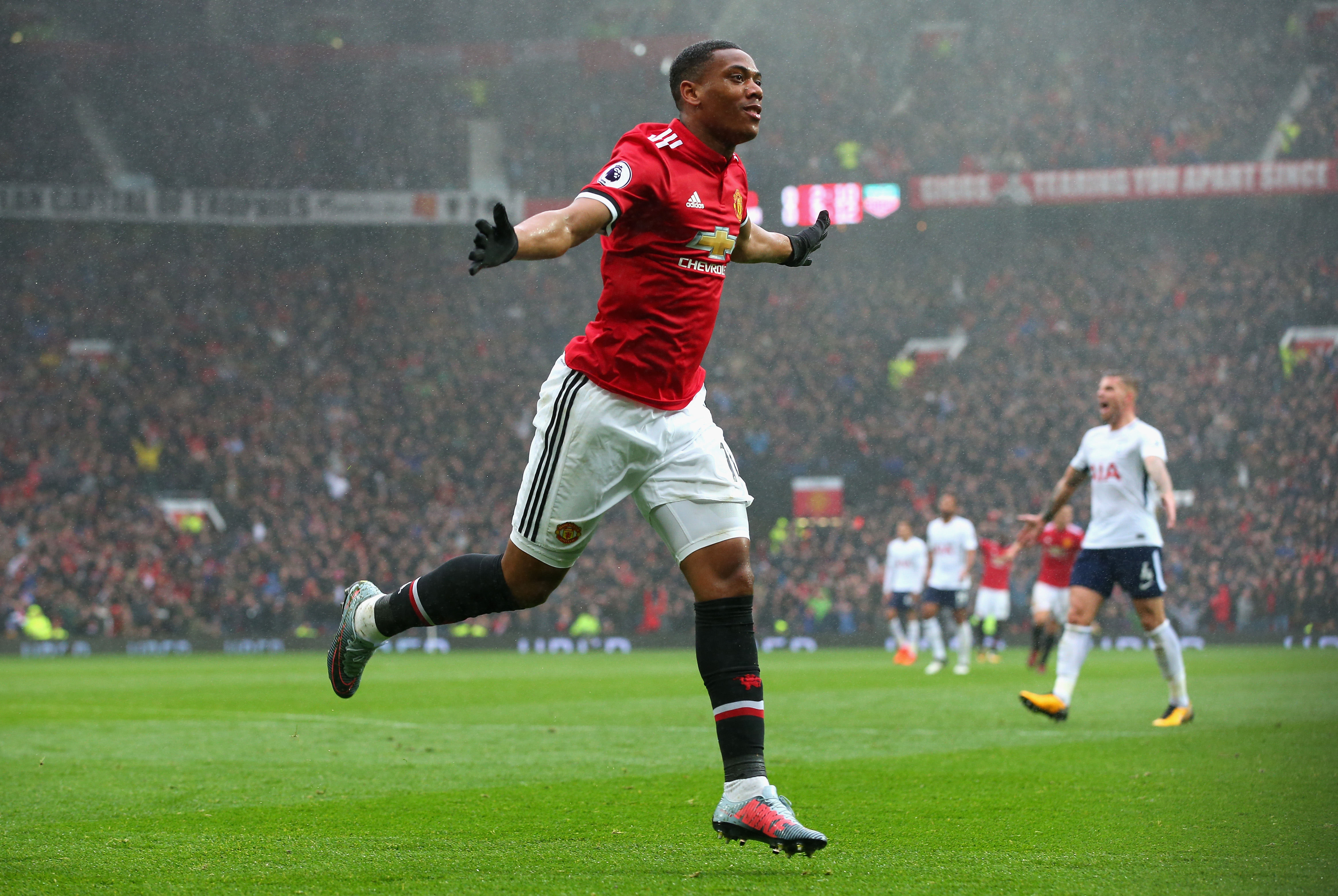 Anthony Martial Joins Steven N'Zonzi And Benjamin Pavard In France Squad